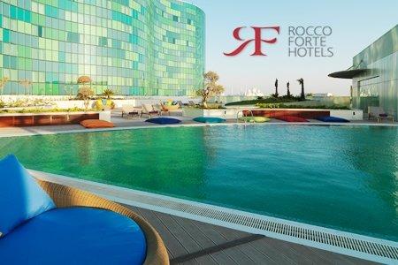 مطعم و بار و تراس حمام السباحة - فندق روكو فورت فندق روكو فورت أبوظبي ، المدينة الرياضية، #أبوظبي