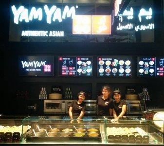 مطعم يام يام تو جو ردهة المطاعم، الطابق الأول، ياس مول، جزيرة ياس، #أبوظبي