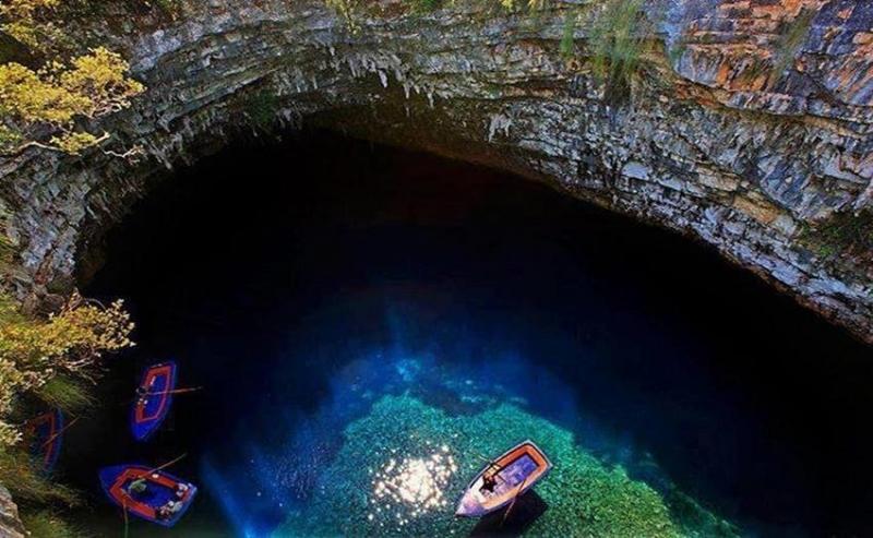 بحيرة الكهف في كيفالونيا #اليونان -6