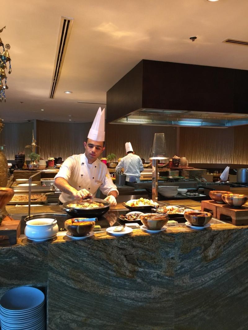 مطعم كيتشن 6 - فندق جي دبليو ماريوت - معبر الخليج #دبي صورة 1