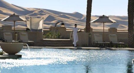 مطعم غدير قصر السراب منتجع الصحراء بإدارة أنانتارا، ليوا، #أبوظبي