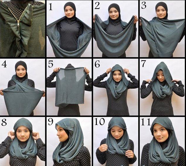 طرق أنيقه للف #الحجاب - 30