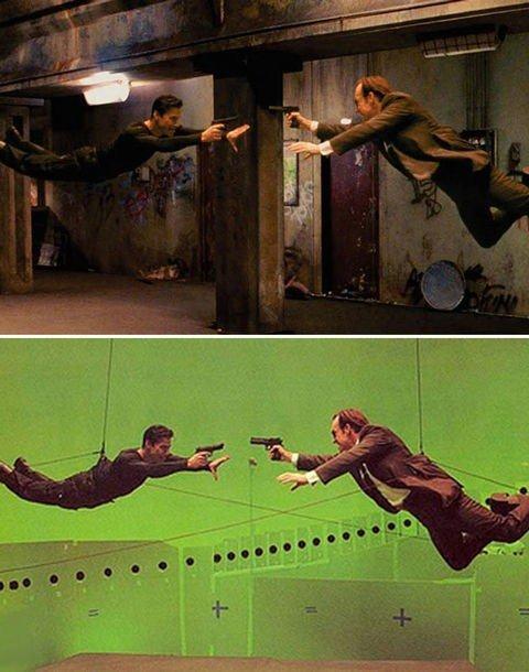 كيف تغير مؤثرات الأفلام الصورة من الاستديو لكما تراها على الشاشة - The Matrix