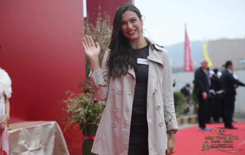 المرشحة في مسابقة #ملكة_جمال العالم 2015 من #كرواتيا Maja SPAHIJA