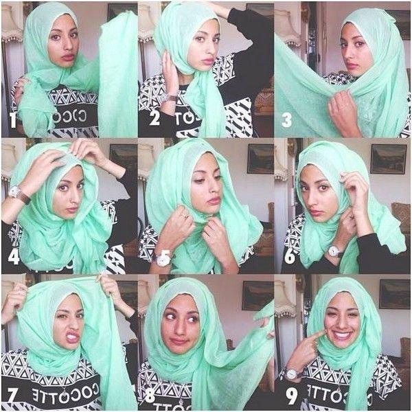 طرق أنيقه للف #الحجاب - 21