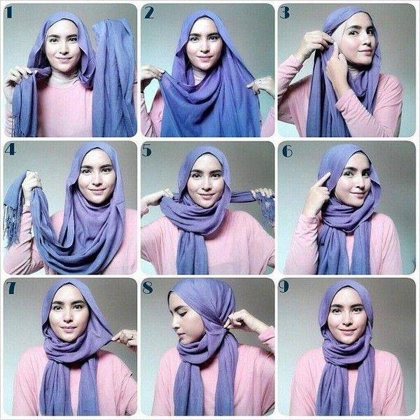 طرق أنيقه للف #الحجاب - 26