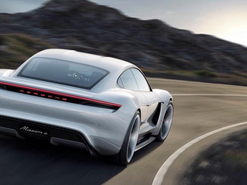 #بورش تطلق مشروع سيارتها الكهربائية الأولى Mission E في #ألمانيا - #سيارات صورة ٣