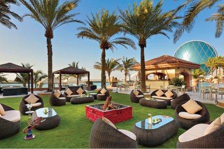 مطعم لا بيسين بول بار فندق الراحة بيتش، شاطئ الراحة، #أبوظبي