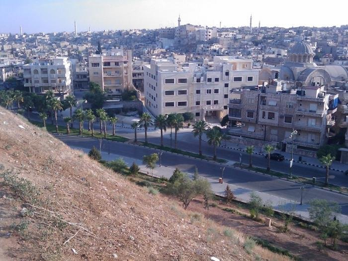 منظر لأحد كنائس حماه #سوريا -3