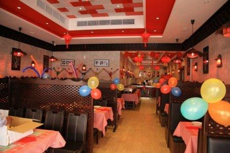 مطعم منغوليان الصينى بالقرب من مسجد الشيخ #محمد_بن_زايد، المطار ال#قديم ، شارع الهريسة، #أبوظبي
