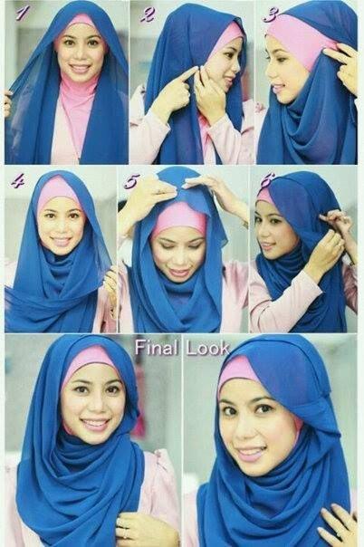 طرق أنيقه للف #الحجاب - 29