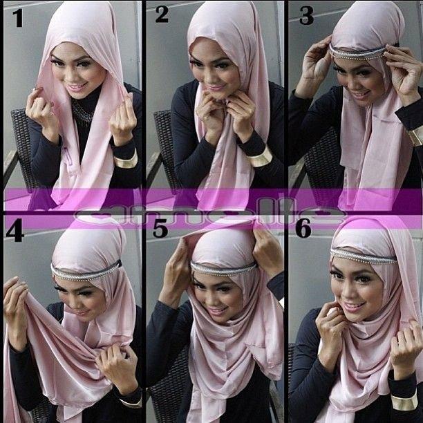 طرق أنيقه للف #الحجاب - 28