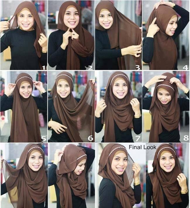 طرق أنيقه للف #الحجاب - 25