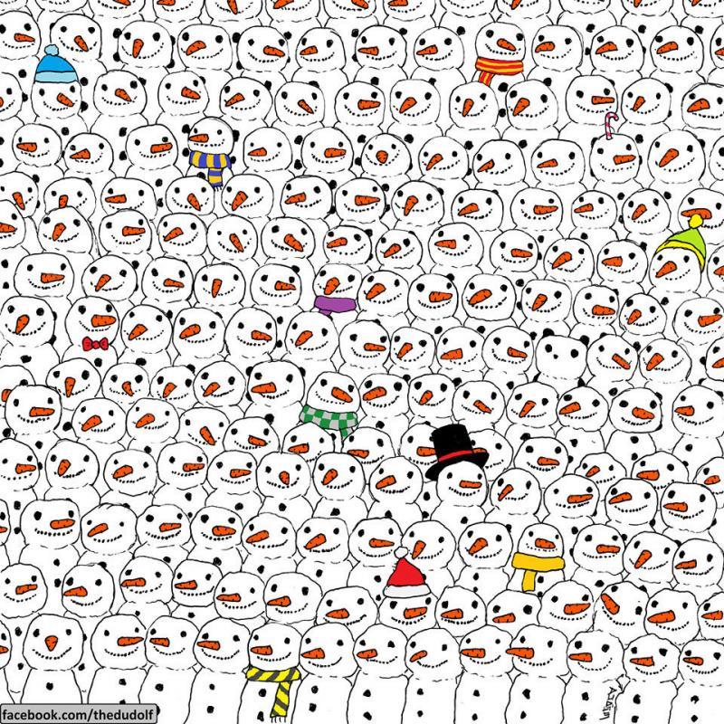 هل تستطيع إيجاد الباندا Panda في هذه الصورة #لغز