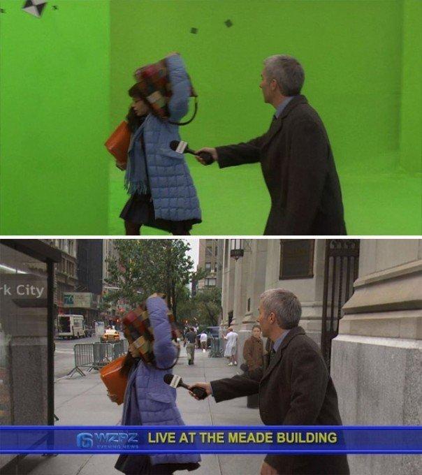 كيف تغير مؤثرات الأفلام الصورة من الاستديو لكما تراها على الشاشة - Ugle Betty