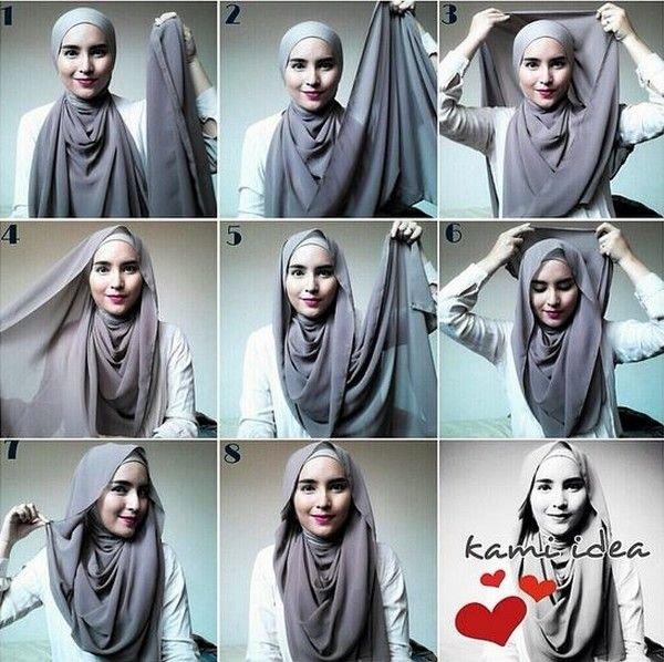 طرق أنيقه للف #الحجاب - 27