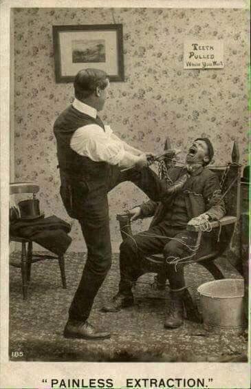 خلع الأسنان #قديما - صورة ٤