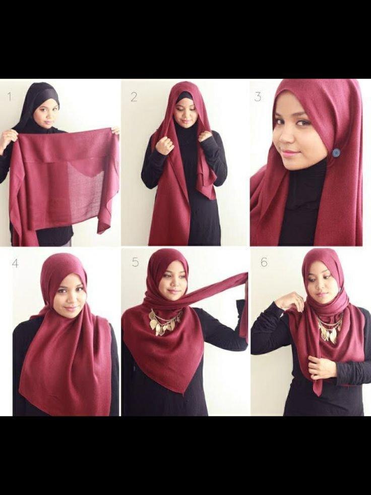 طرق أنيقه للف #الحجاب - 23