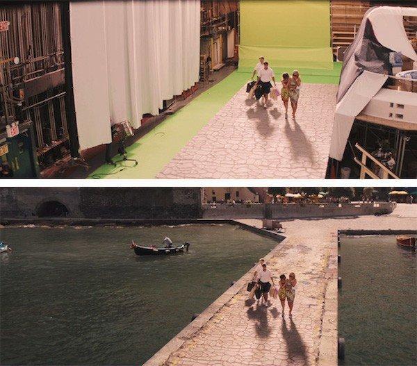 كيف تغير مؤثرات الأفلام الصورة من الاستديو لكما تراها على الشاشة - The Wolf of Wall Street