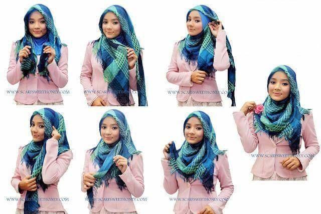 طرق أنيقه للف #الحجاب - 41