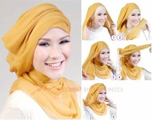 طرق أنيقه للف #الحجاب - 46