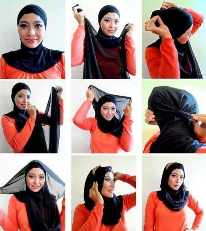 طرق أنيقه للف #الحجاب - 42