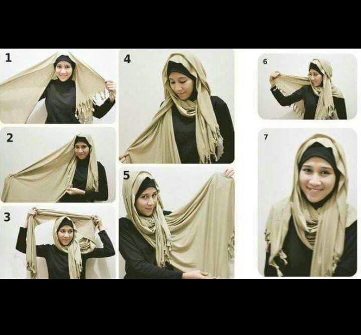 طرق أنيقه للف #الحجاب - 43
