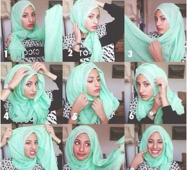 طرق أنيقه للف #الحجاب - 45