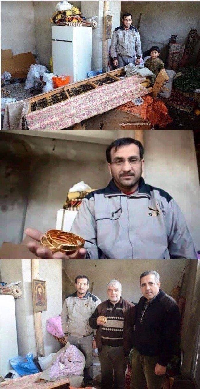 نازح سوري يعيد لمواطن تركي ذهبا وجده في الفراش الذي أعطاه اياه الرجل #سوريا