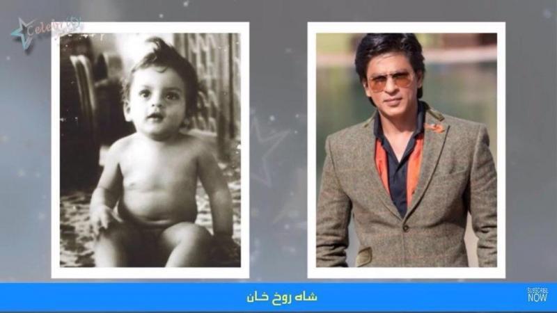 صورة شاه روخ خان وهو صغير  #مشاهير