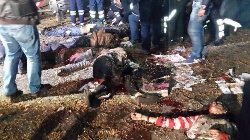 ١٣٨ قتيلا وعشرات الجرحى في #تفجير_أنقرة الإرهابي في #تركيا - صورة ١٥