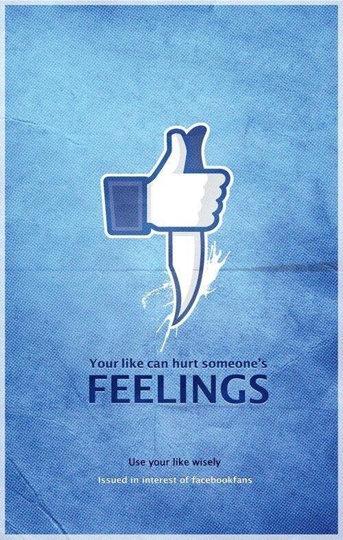 إعلان لشركة #الفيسبوك في #الهند للتوعية حول استخدام زر الإعجاب