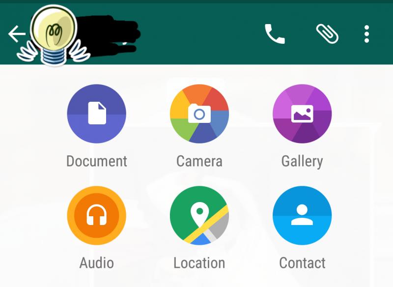 #الواتساب يسمح بتبادل الملفات والوثائق على أجهزة الأندرويد