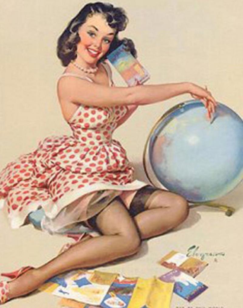 صور فتيات أغلفة التقويم في القرن التاسع عشر Calendar Girls - صورة ٢٣