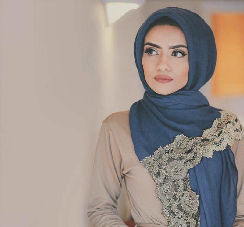 صور لفات #حجاب من الدانتيل #صور_بنات - صورة 4