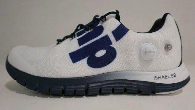 شركة ريبوك @Reebok تحتفل بمرور 68 عاماً على تأسيس الكيان الصهيوني.. بإنتاج حذاء رياضي خاص