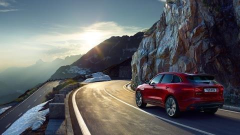سيارة #جاغوار Jaguar F-Pace موديل ٢٠١٧ #سيارات - صورة ٩