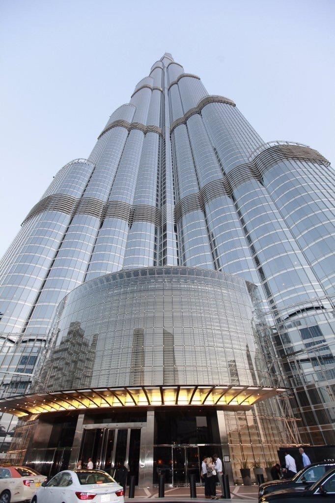 لقطة مميزة ل #برج_خليفة في #دبي