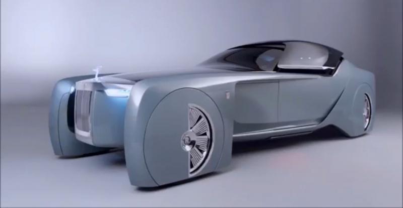 سيارة #Rolls_Royce ذاتية الحركة 103EX #سيارات - صورة ١