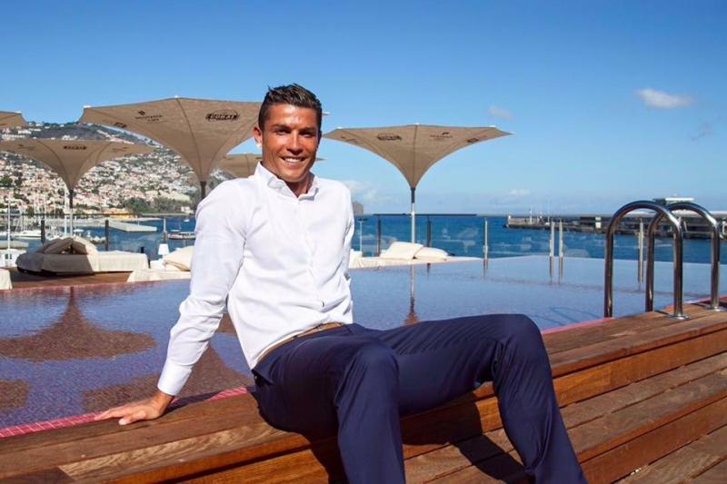#كريسيتانو_رونالدو نجم نادي ريال مدريد يفتتح أول فندق باسمه في مسقط رأسه ماديرا #ريال_مدريد #كورة صورة 2