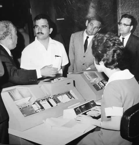 أول حاسوب في #الأردن استلمته الجمعية العلمية الملكية عام ١٩٧٢ #تاريخ