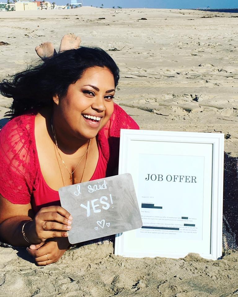 Benita Abraham job offer acceptance became viral online - 1