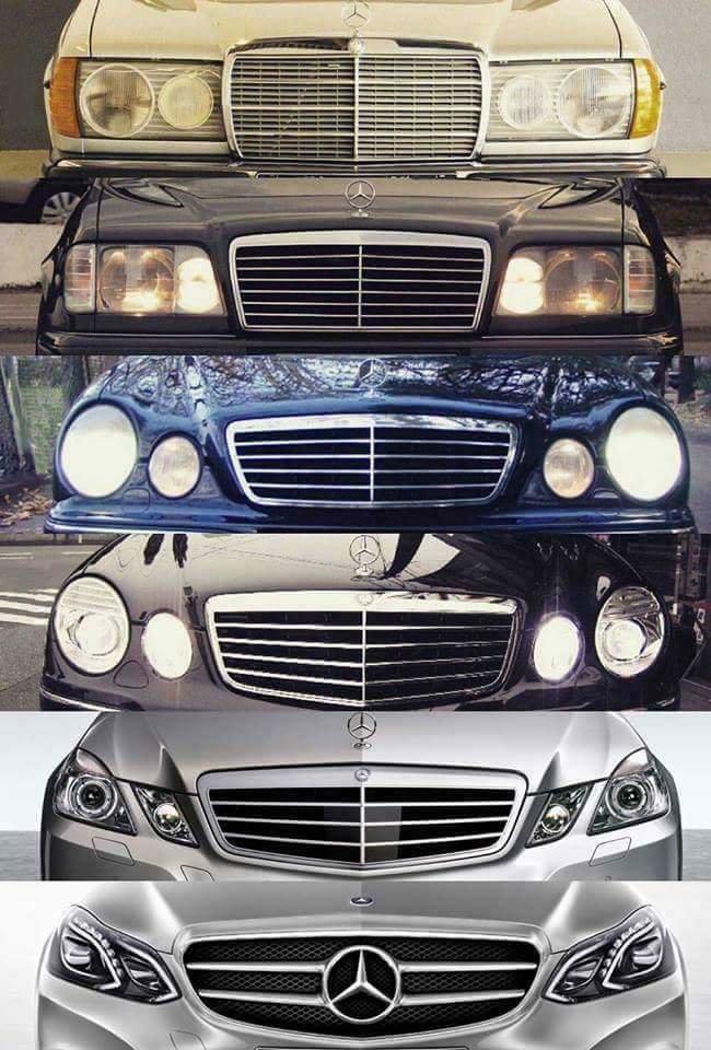 سيارة #مرسيدس خلال 30 عاما #سيارات