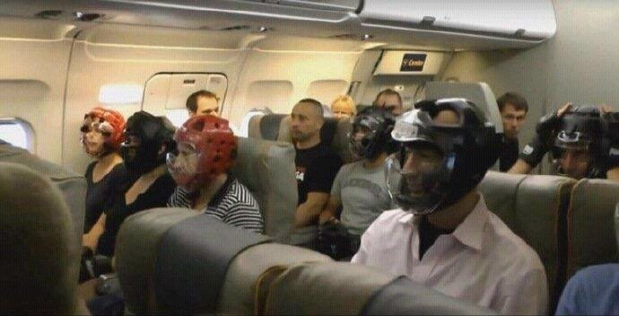 Passengers on #United airlines