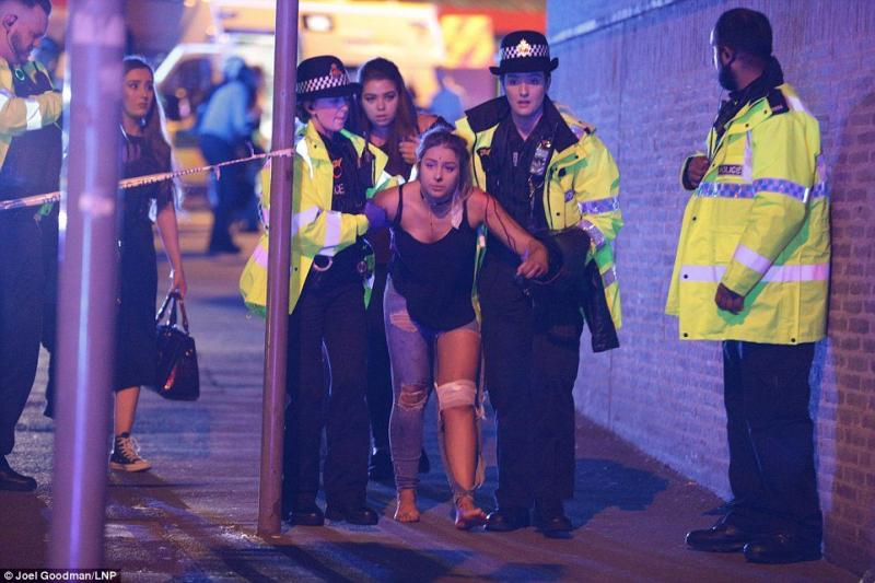 Several people killed and many injured after two explosions in #Manchester Arena at the end of Ariana Grande gig