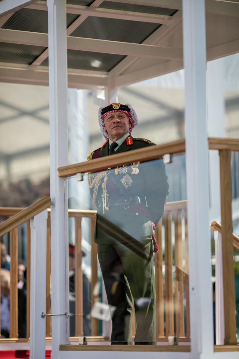 جلالة #الملك_عبدالله الثاني يرعى تخريج ولي العهد سمو الأمير حسين من أكاديمية #ساندهيرست #بريطانيا - صورة 3