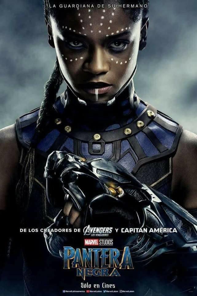 #أفلام #السينما العالمية لعام 2018 - فيلم Pantera Negra