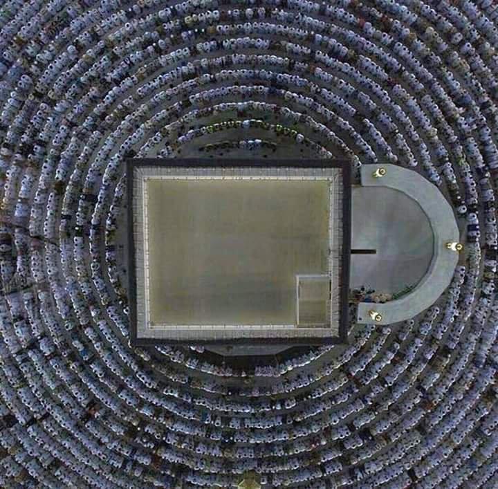 صورة رائعة ل #الكعبة المشرفة في #مكة #السعودية