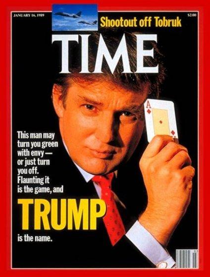 صفحات الغلاف لمجلة ال #Time الأمريكية والتي ظهر عليها الرئيس الأمريكي #ترامب #مشاهير - صورة ٦