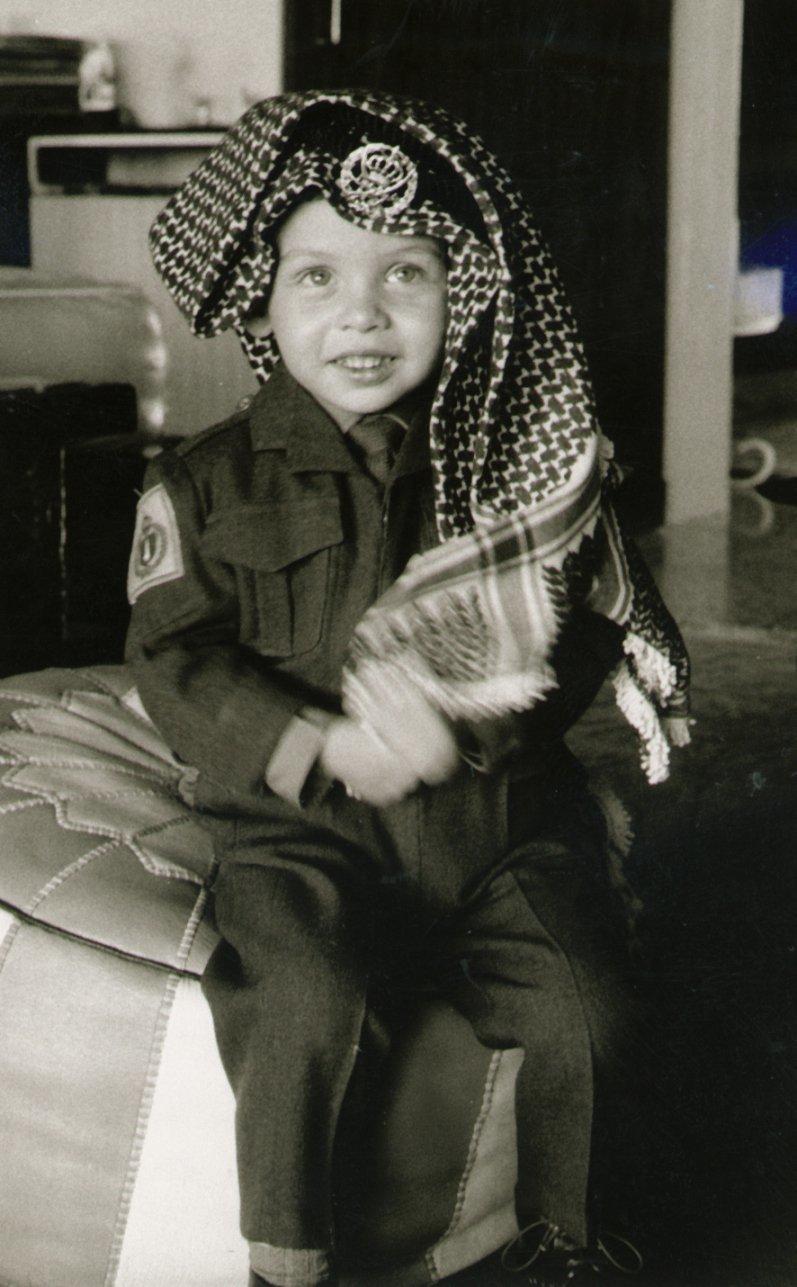 صور نادرة لجلالة #الملك_عبدالله الثاني ملك #الأردن في ذكرى ميلاده - صورة ١